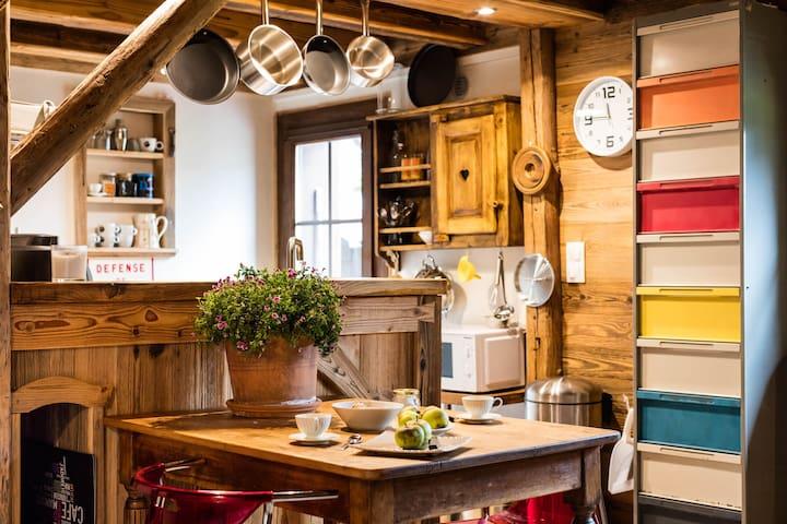Petite maison entre Genève et les montagnes - Viuz-en-Sallaz - Dům