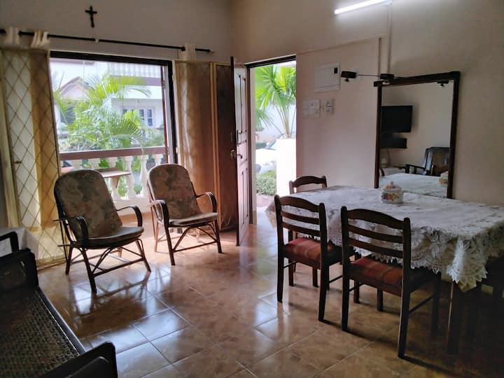 1 BHK Holiday Home near Benaulim Beach at Lotus