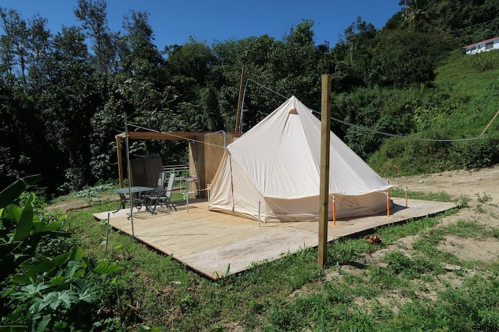 Caonillas Lake View Glamping Site ♥☻