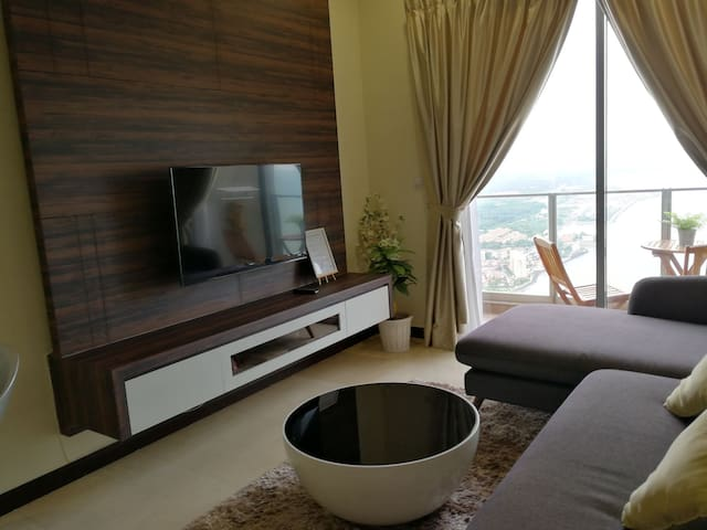 S3 HomeStay (Seaview, 2Rooms, 2Bathrooms,Malacca.)