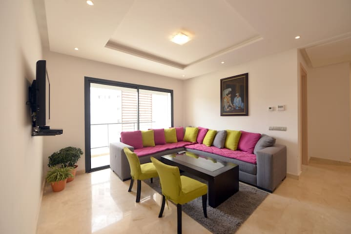 LOVELY 2BR THE HEART OF HAY RIAD - RABAT