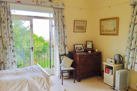 Beautiful ensuite balcony room with stunning views - Worcestershire