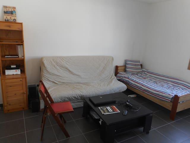 Studio proche Jean Jaurès dans une résidence calme - Lyon - Apartment