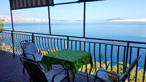 Appartment Marija with big terrace and sea view