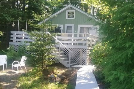 Midcoast Maine Private Waterfront Cottage.