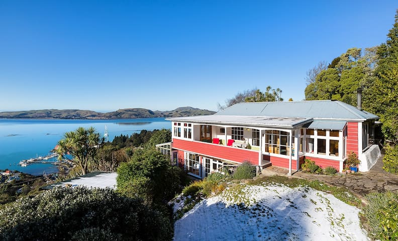 Sunny Private Suite, Stunning View - Careys Bay - Hus