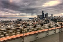 We're a 20 minute light rail ride from downtown Seattle.