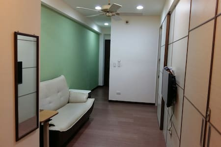 綠屋:台中火車站電梯小公寓(32平方米)下訂前請詳讀房源描述及規則 - Central District - Wohnung