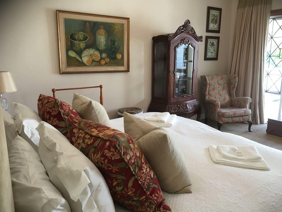 Beautiful furnishings.