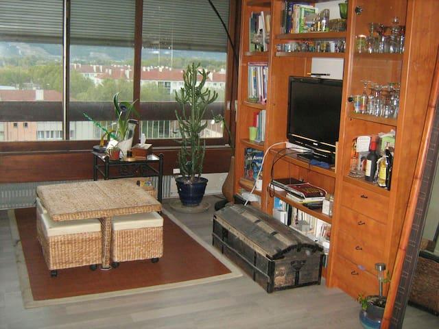 chambre dans appartement proche de l' autoroute A7