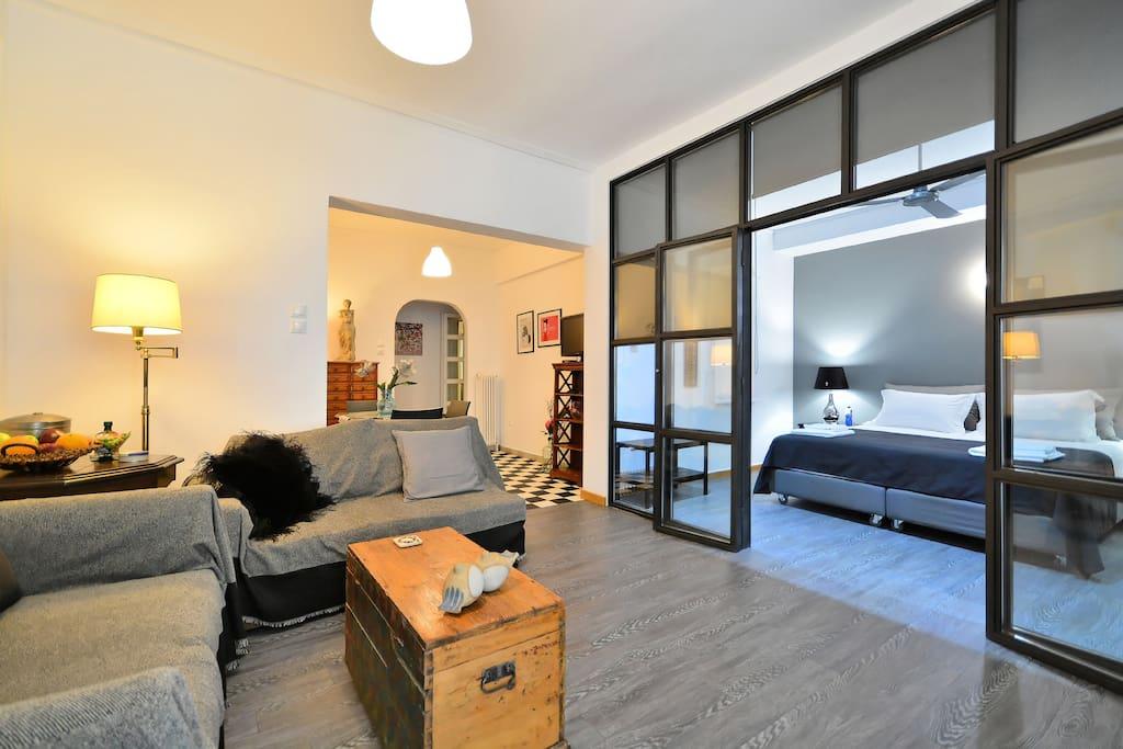 Plaka Elegant Apartment, - Apartments for Rent in Athens ...