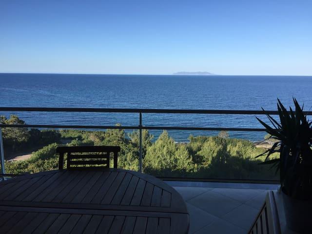 Vue mer Cap Corse Appartement 80m2 - Luri - Apartment