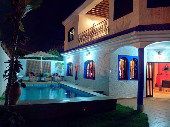 Riad ''Majorelle'' avec piscine 20mn de Rabat