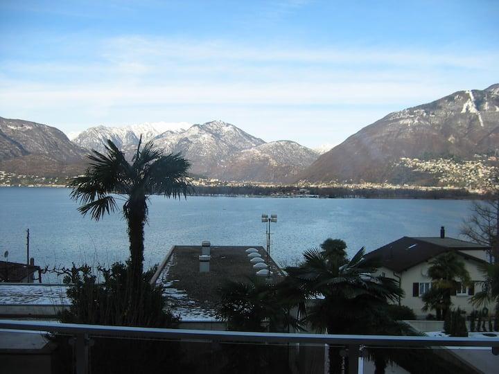 Gemütliche Wohnung in der Nähe des Sees
