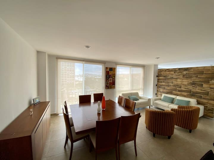 Cozy & awesome apt in safest area in Juriquilla