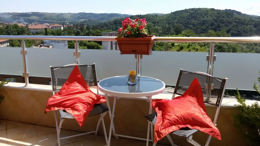 Cosy studio with amazing terrace - Veliko Tarnovo - Pis