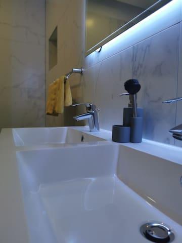 Batroom #2 with jacuzzi bathtub