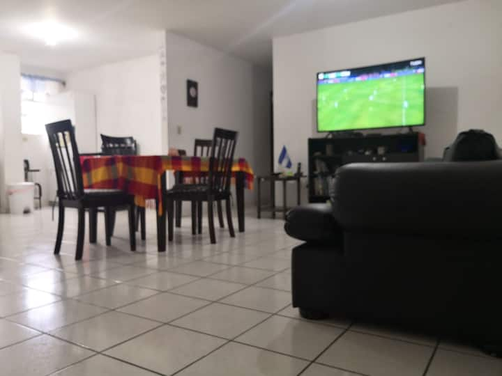 The most central apartment in Tegicigalpa.