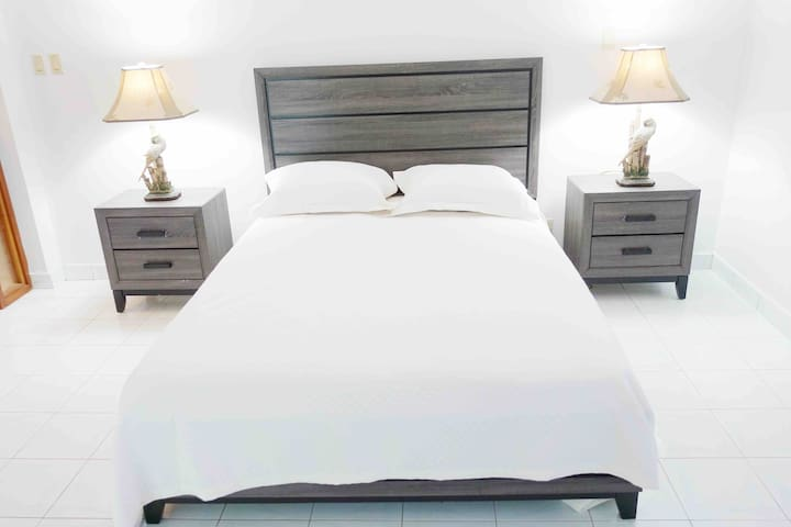 Guest room 1 - Queen Size bed with large  Balcony