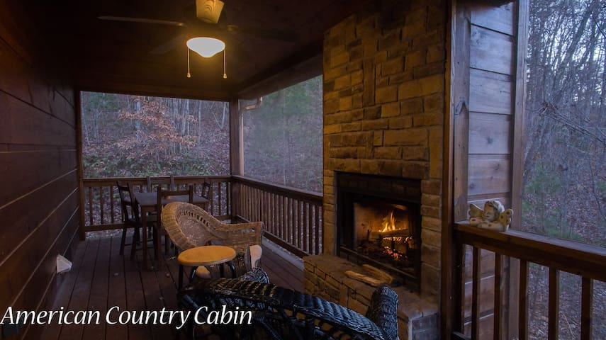 American Country Cabin.
