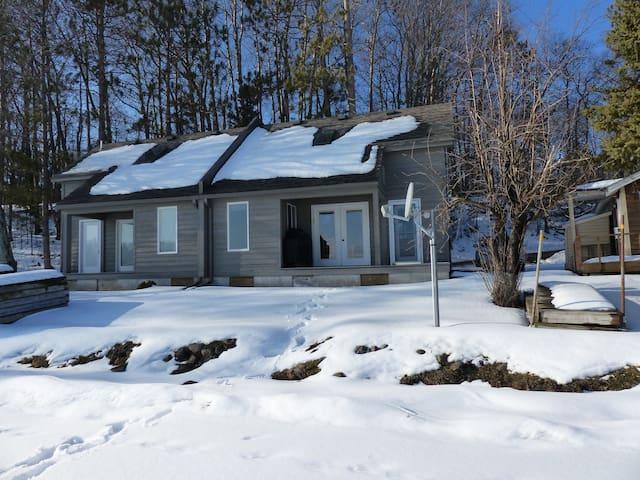 cabin for all seasons - Hayward