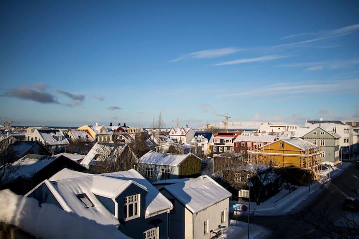 Beautiful House in Heart of Reykjavik FREE PARKING