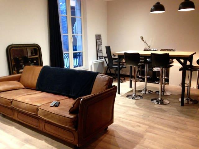 Hyper centre Appartement 2 chambres coté cour - Le Mans - Apartamento