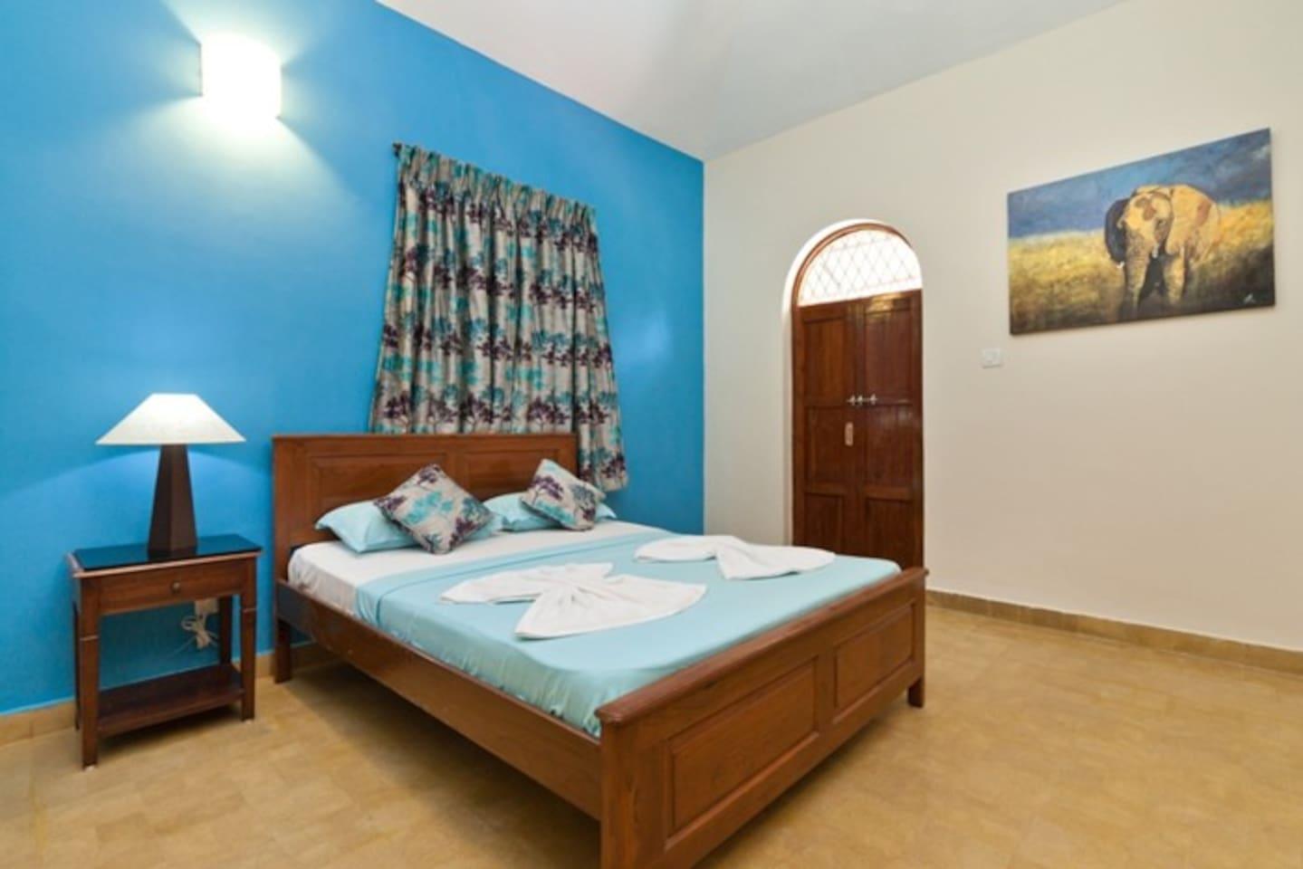 2BHK villa for rent in Calangute