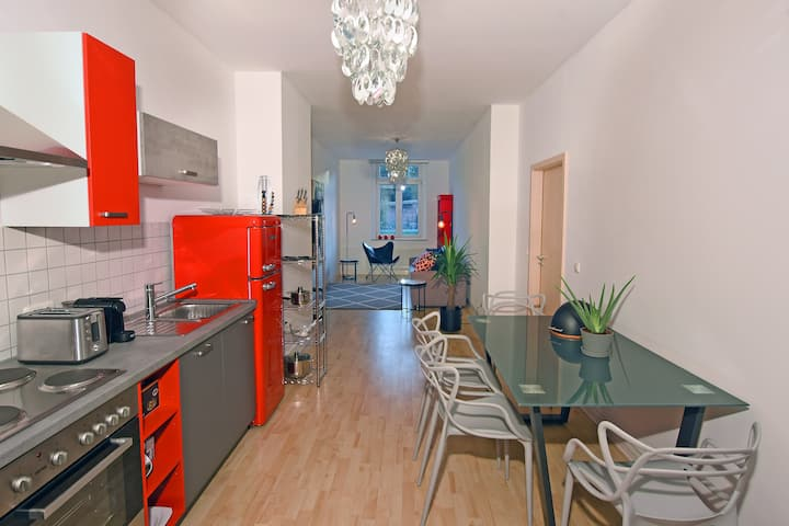 Stylish city apartment - Zwickau