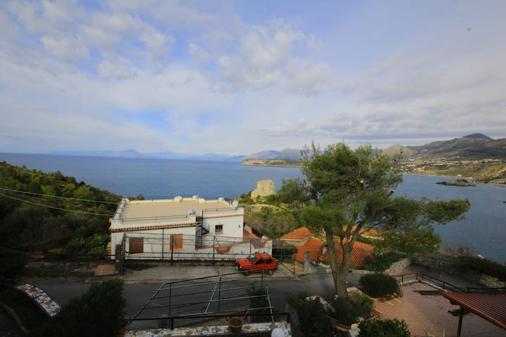 Outstanding flat with sea view - San Nicola Arcella - Appartement