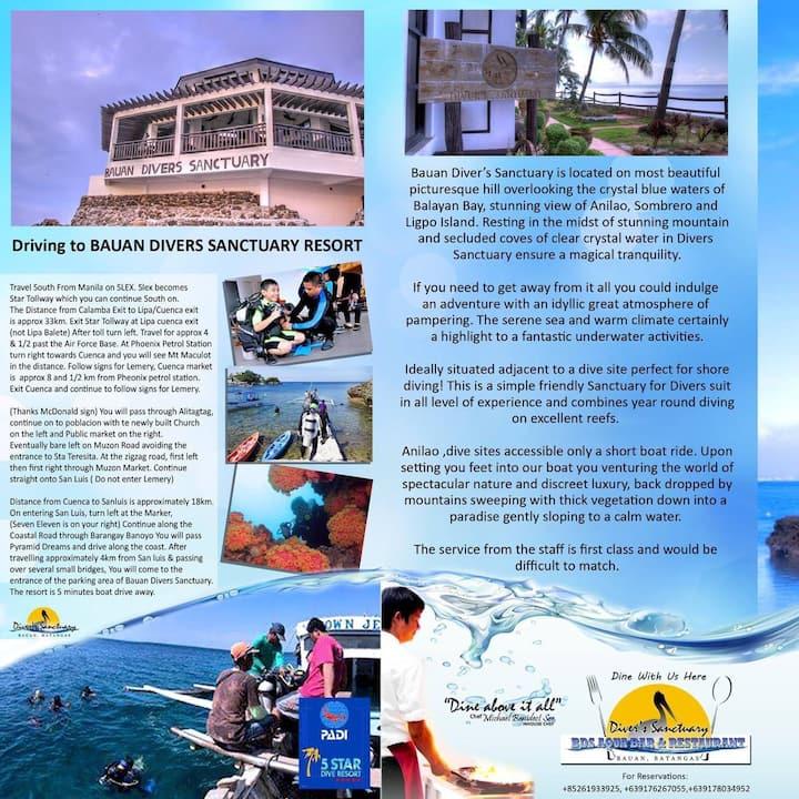 Coach House@Bauan Divers Sanctuary