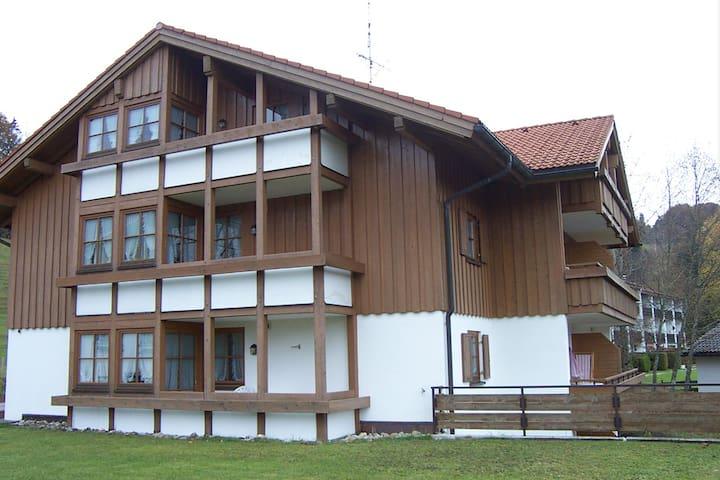 Skipass bei Landhaus Eibelesee inclusive - Oberstaufen - Wohnung