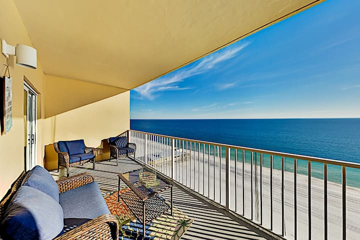 Gulf-Front Escape | Pools, Hot Tub & Beach Access
