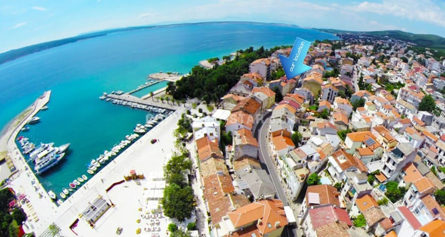 Gorgeous apartment Erik - 50m from the beach (2+2) - Crikvenica - Appartement