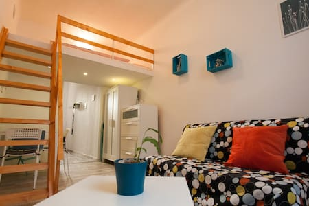 Colourful Apartment @City Park with free parking - Budapeszt - Apartament