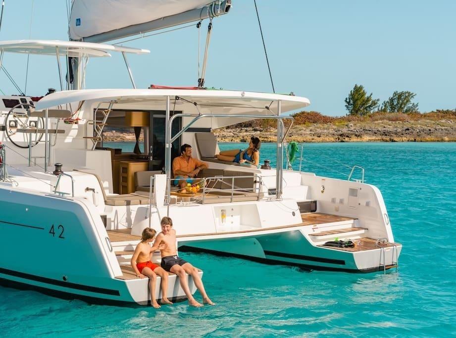 Lagoon 42 Active Cruises