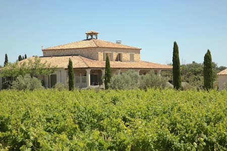 Gîte de charme dans un domaine viticole gardois - Bourdic