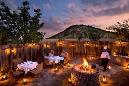 Luxury Safari experince Kwa Maritane in Pilansberg - Pilanesberg National Park