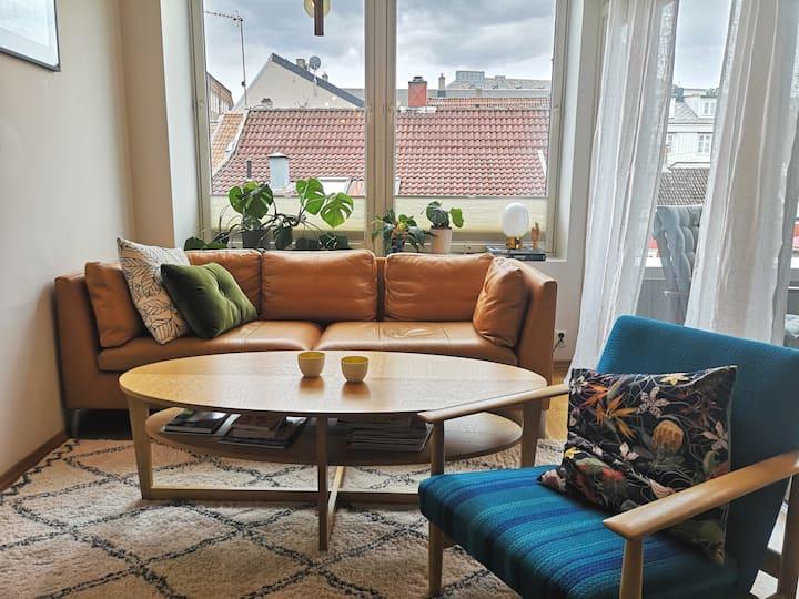 Stylish apartment in charming neighbourhood
