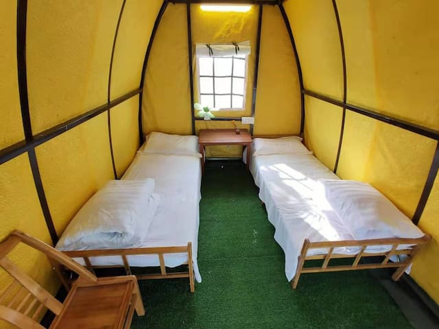 黄河星空观景帐篷