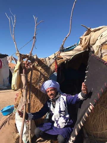Agarimocamp Berber tents Sahara, Merzouga