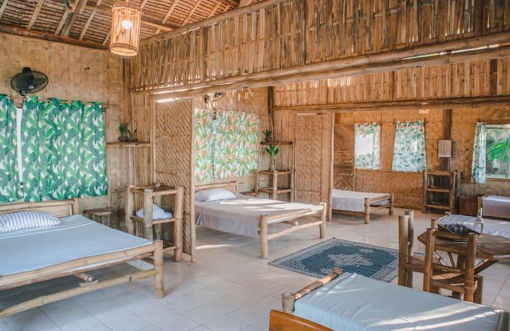 Bamboo Beach House at Alpas - Manuel House