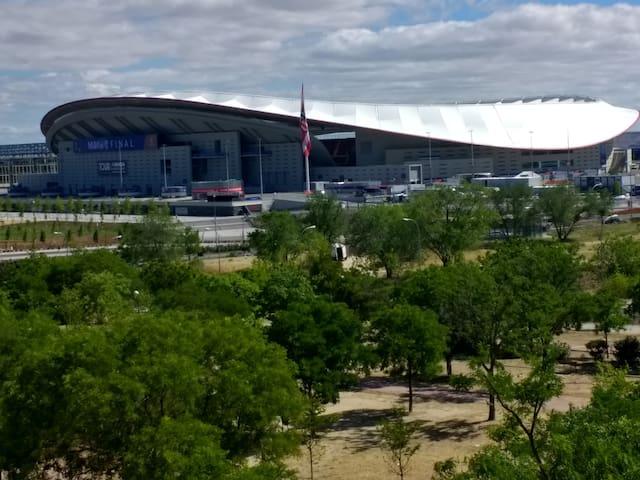 Wanda Stadium. Madrid. 20 minutes from Sol by tube
