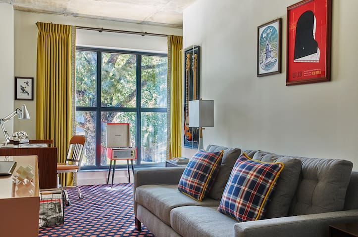 Book our Doc Knight Suite for the ultimate getaway