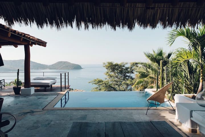 #7 La Casa MX - Zihuatanejo - Bed & Breakfast