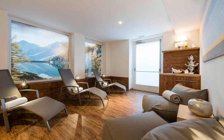 Beautiful alpin apartment with wellness area - Percha - Apartament