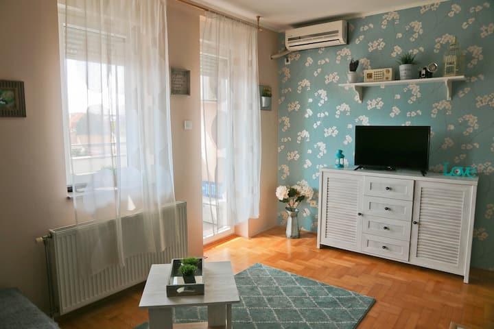Romantic Studio@ Novi Sad City Centre+FREE Netflix