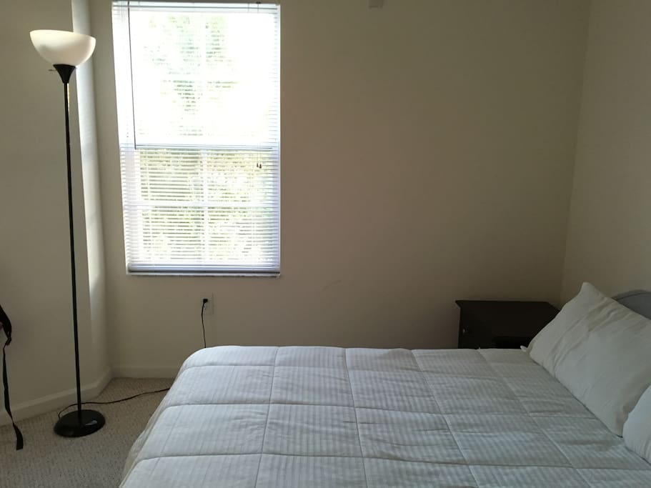 Comfortable bedroom with bathroom inside near usf apartments for rent in tampa florida for One bedroom apartments in tampa near usf