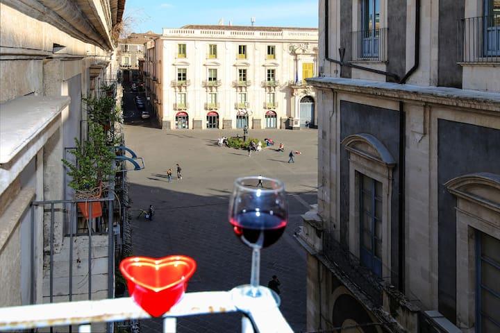 Sicily Wonderful Piazza Universita'
