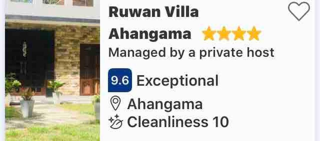 Ruwan Villa Ahangama Sri Lanka